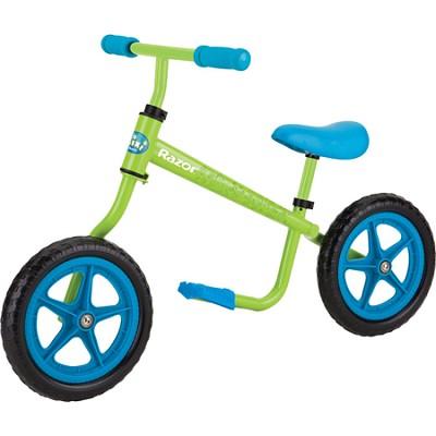 Kixi Balance Bike, Blue/Green