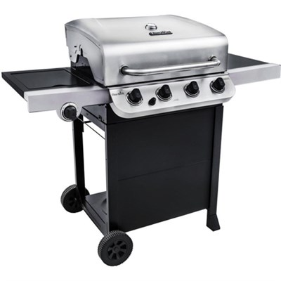 Performance 475 Square Inches 4-Burner Gas Grill with Side Burner (OPEN BOX)
