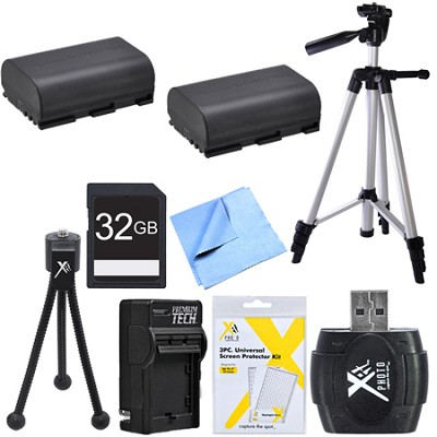 Ultimate LP-E6 Battery Bundle for Canon EOS 5D Mark III, 6D, 60D, 7D, 70D