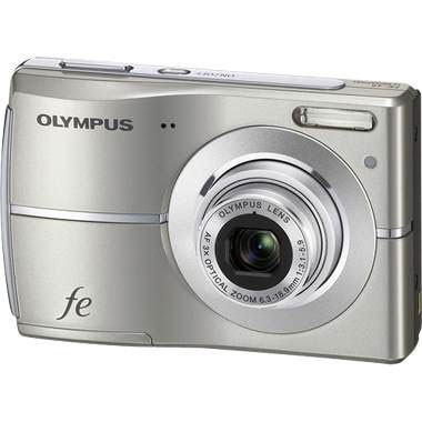 FE-45 10MP 2.5` LCD Digital Camera (Titanium)