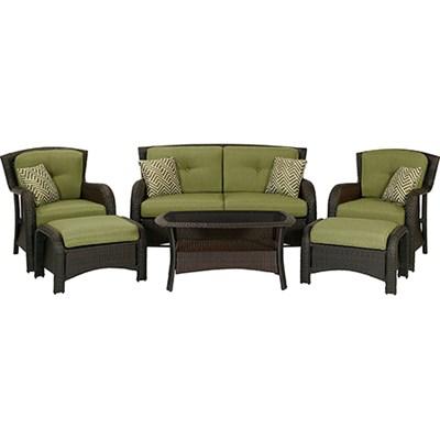 Strathmere 6-Piece Patio Seating Set - STRATHMERE6PC