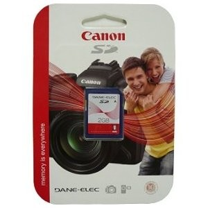 2 GB Secure Digital {SD} Memory Card