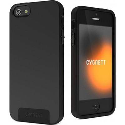 SecondSkin Black Silicone iPhone 5 Case