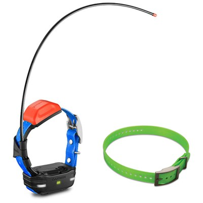 T 5 mini Dog Training Device with Collar - Dog Collar Strap Green Bundle