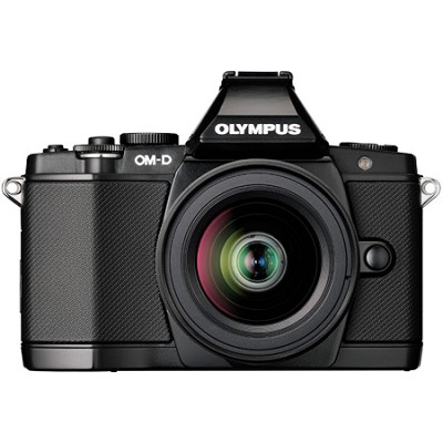 OM-D E-M5 BLK 12-50mm Black Digital SLR Camera