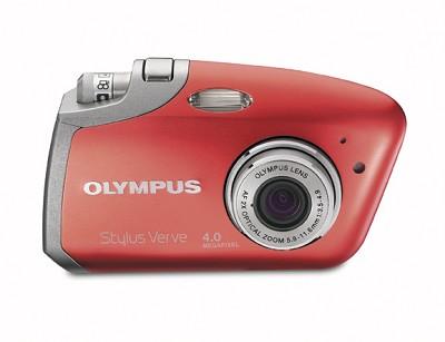 Stylus Verve Digital Camera (RED)