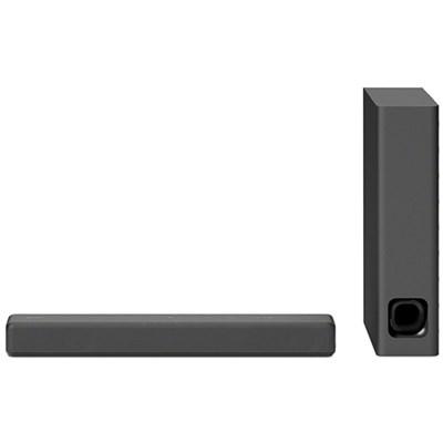 HTMT300 Mini Sound bar with Wireless Subwoofer, Black