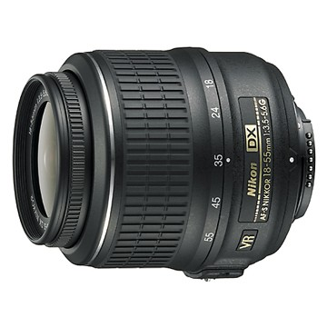 18-55mm f/3.5-5.6G VR AF-S DX Nikkor Zoom Lens (Imported)