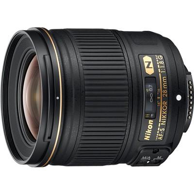 AF-S NIKKOR 28mm f/1.8G Lens w/ Nikon 5-Year USA Warranty