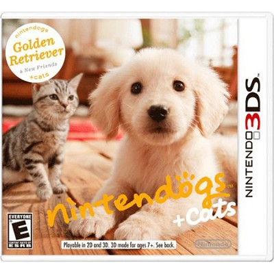 Nintendogs + Cats: Golden Retriever and New Friends for 3DS