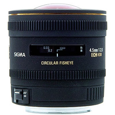 4.5mm F2.8 EX DC Circular Fisheye HSM For Canon EOS