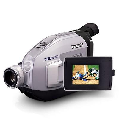 PVL-354 VHS-C Camcorder, 20x Optical/700x Digital Zoom, B/W Viewfinder