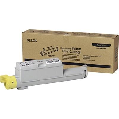 Yellow High Capacity Toner Cartridge for Phaser 6360 - 106R01220