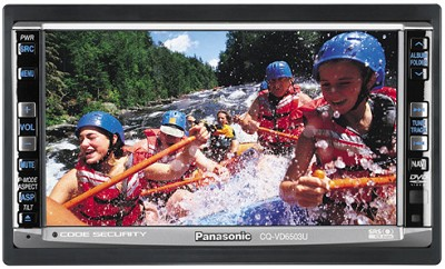 CQ-VD6503U  In-dash 6.5` Widescreen Monitor/DVD Receiver