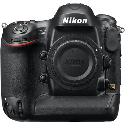 D4 16.2MP FX Format Pro DSLR Body