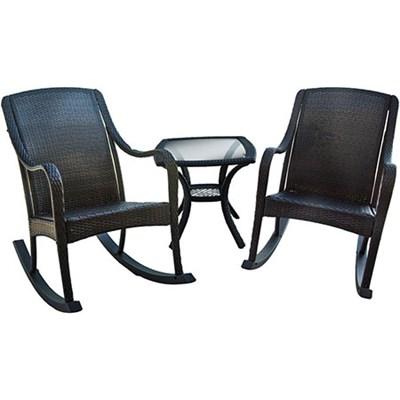Orleans 3 Piece Rocking Chair Set - ORLEANS3PCRKR