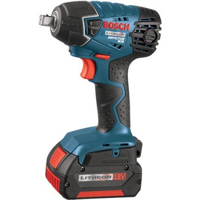 18V 1/2` Impact Wrench with 2 FatPack Batteries (4.0Ah)