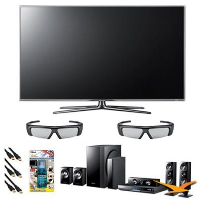 UN55D7000 55 inch 1080p 240hz 3D LED + HTD6500 Home Theater Bundle