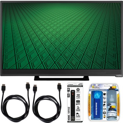 D28hn-D1 - D-Series 28` Class 60Hz Full-Array 720p LED TV Bundle