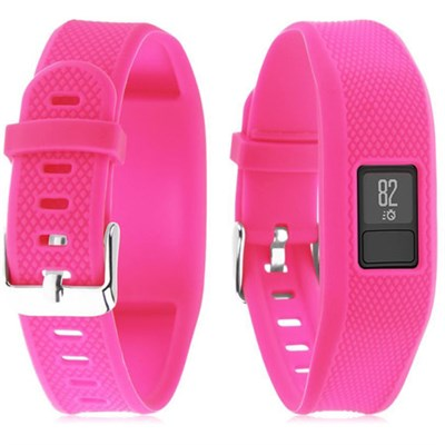 Silicone Replacement Wrist Band Strap For Garmin Vivofit 3 - Pink