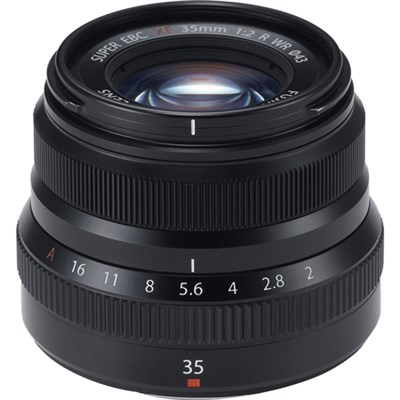 Fujinon XF35mm F2 R WR Black X-Mount Lens - OPEN BOX