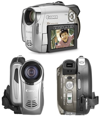 DC-230 Super Slim DVD Camcorder With 35x Optical Zoom