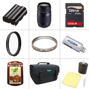 75-300 Super Zoom Pro Accessory Bundle for Nikon D80 18-55mm Kit