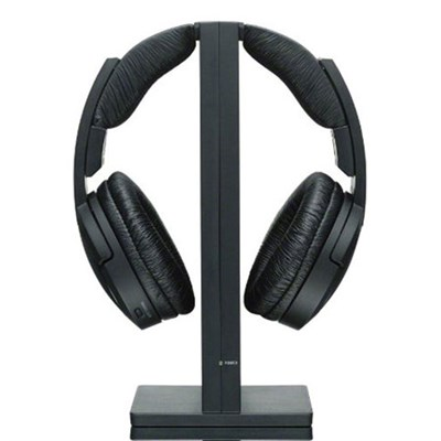 RF985RK Wireless RF Headphones - Black