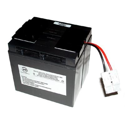 RBC7-SLA7-BTI RBC7 Replacement Battery cartrdige for APC UPS, 12 V DC (Black)