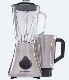 50-oz. Silhouette Blender with Bonus Stainless Steel Jar, Brushed Stainless