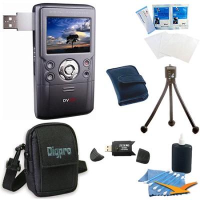 DV550UW 12 MP Digital Video Camcorder and Still Camera Bundle