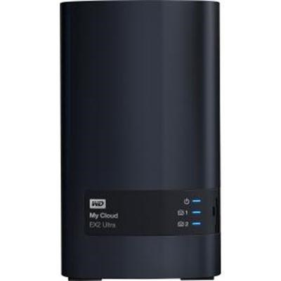 8TB My Cloud EX2 Ultra Network Attached Storage - WDBVBZ0080JCH-NESN