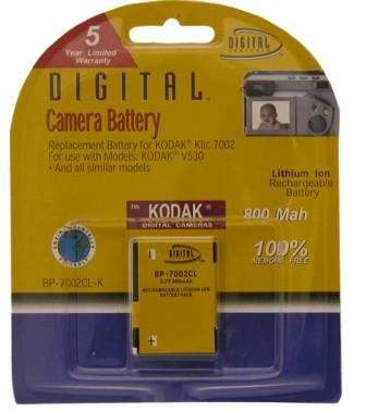 KLIC-7002 800mAh Lithium Battery for V530 and V603