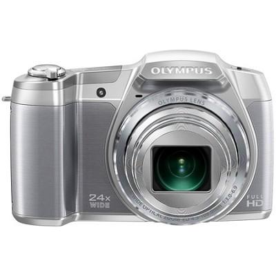 STYLUS SZ-16 iHS16MP 24x wide/48x  Zoom 1080p HD 3 ` Hi-Res LCD-Silver - OPEN BO