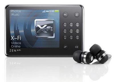 ZEN 16GB X-Fi Multi Media Player With Wireless LAN