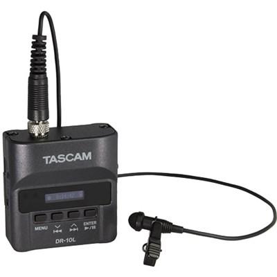 DR-10L Portable Digital Studio Recorder w/Lavaliere Microphone - OPEN BOX