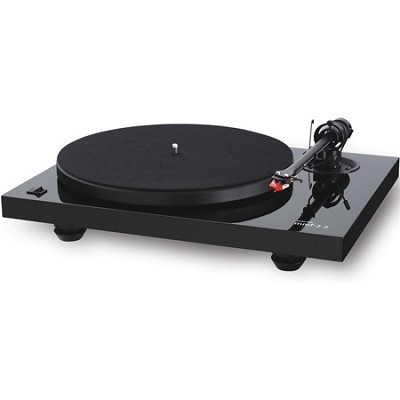 MMF 2.2 Belt Driven Turntable with Cartridge - Gloss Black