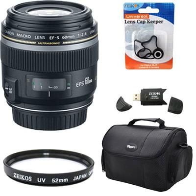 EF-S 60mm F/2.8 Macro USM Lens Exclusive Pro Kit