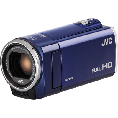 GZ-E100AUS - HD Everio Camcorder 40x Zoom f1.8 (Blue)