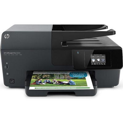 Officejet Pro 6830 e-All-in-One Printer - OPEN BOX