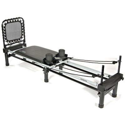AeroPilates Reformer 650 with Stand & Rebounder, 4-Cord (55-4650)
