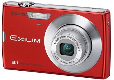 Exilim Z150 8.1 Megapixel Camera (Red)