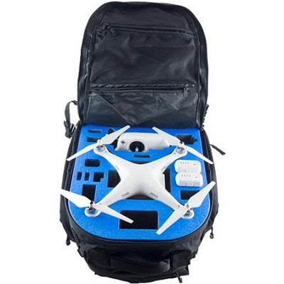 DJI Phantom 2 Backpack Case Black - XB-DJI-P2-BP-BLK-S