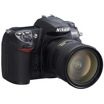 D200 Digital SLR Camera w/ 18-200mm f/3.5-5.6G ED-IF AF-S DX Zoom Lens