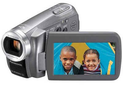 SDR-S7S SD Camcorder w/ 10x Optical Zoom (Silver)