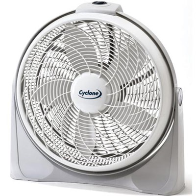 3520 20` Cyclone Pivoting Floor Fan - OPEN BOX