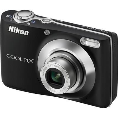 COOLPIX L24 14 MP Digital Camera with 3.6x NIKKOR Optical Zoom Lens Black