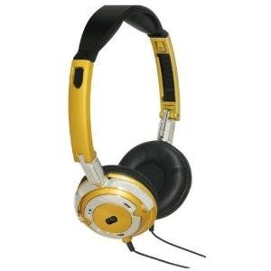 Popmetal DJ Style Headphones (Gold)
