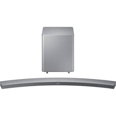 HW-H7501 8.1 Channel 320 Watt Wireless Audio Curved Soundbar - Silver - OPEN BOX