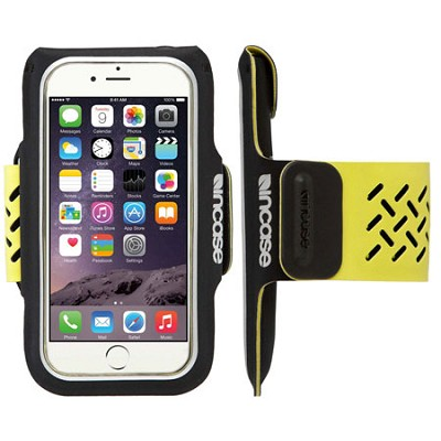 Sports Armband for iPhone 6 - Black/Lumen